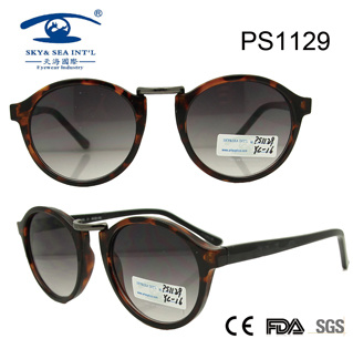 2016 Best Quality New Design Plastic Sunglasses (PS1129)