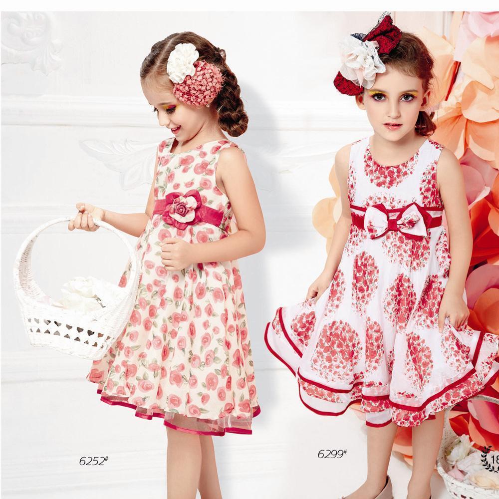 China girls frock designs princess dress young girls fashion clothes