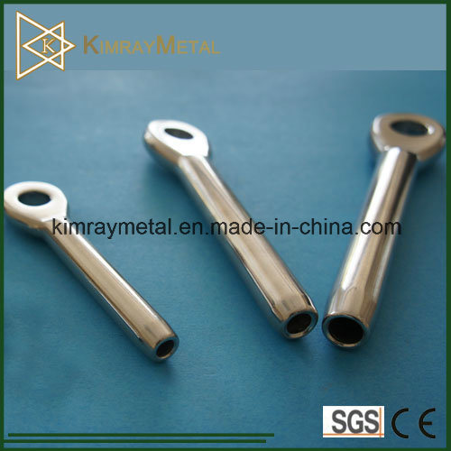 Stainless Steel A4 AISI 316 Swage Eye Terminal Standard Type
