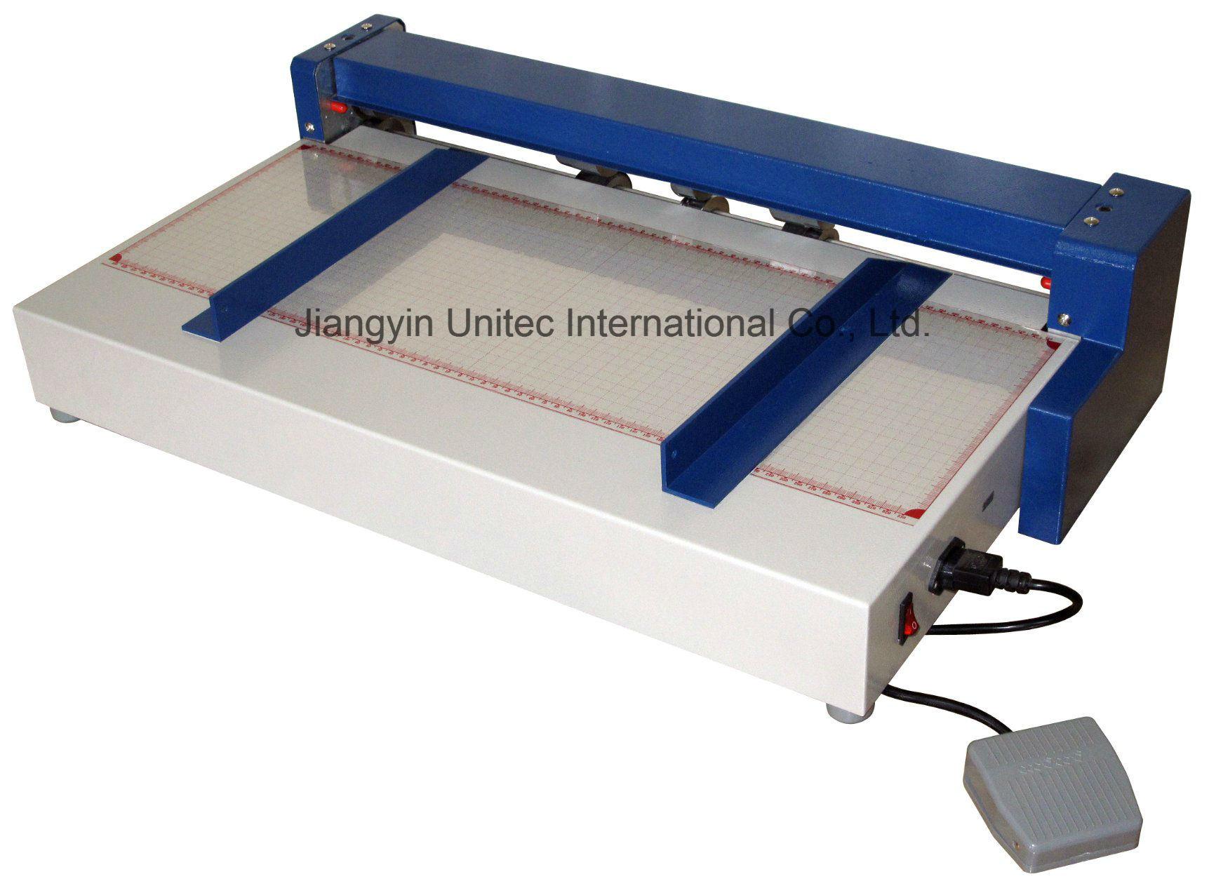 A2 Paper Electric Creasing & Perforating Machine Ccp650e