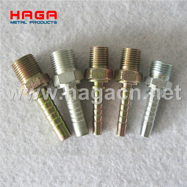 Jic Male Fitting 74 Degree Cone Hydraulic Hose Fitting