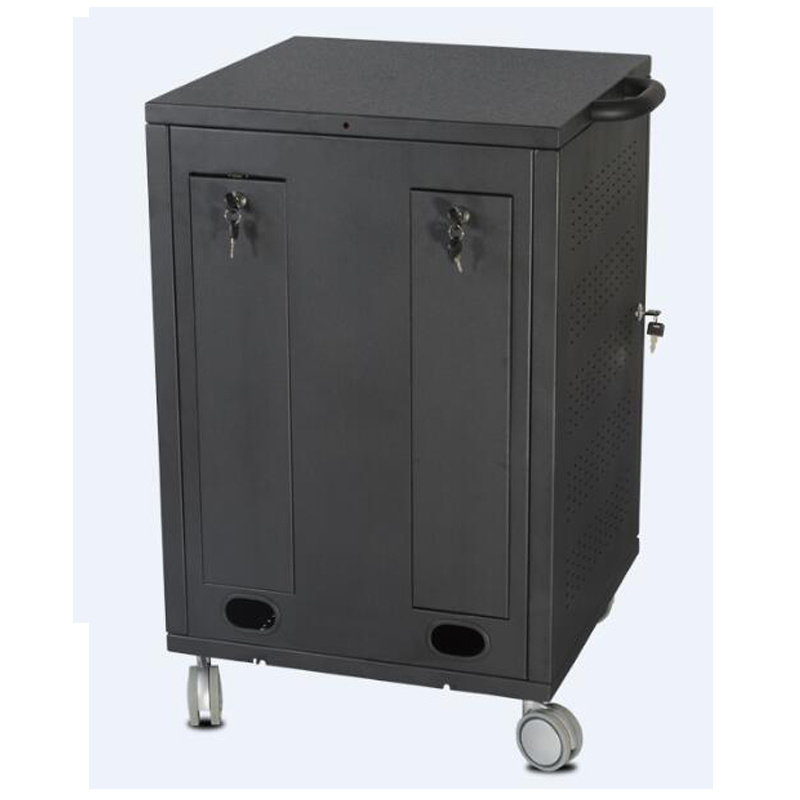 a/V Mobile Media Cart Lockable 3-Shelves Power Rail (MB 004)