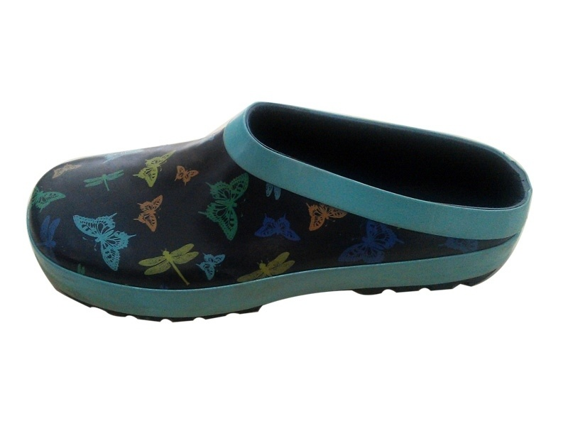 2014 cheap new design fashion cheap rubber clogs for lady and girls