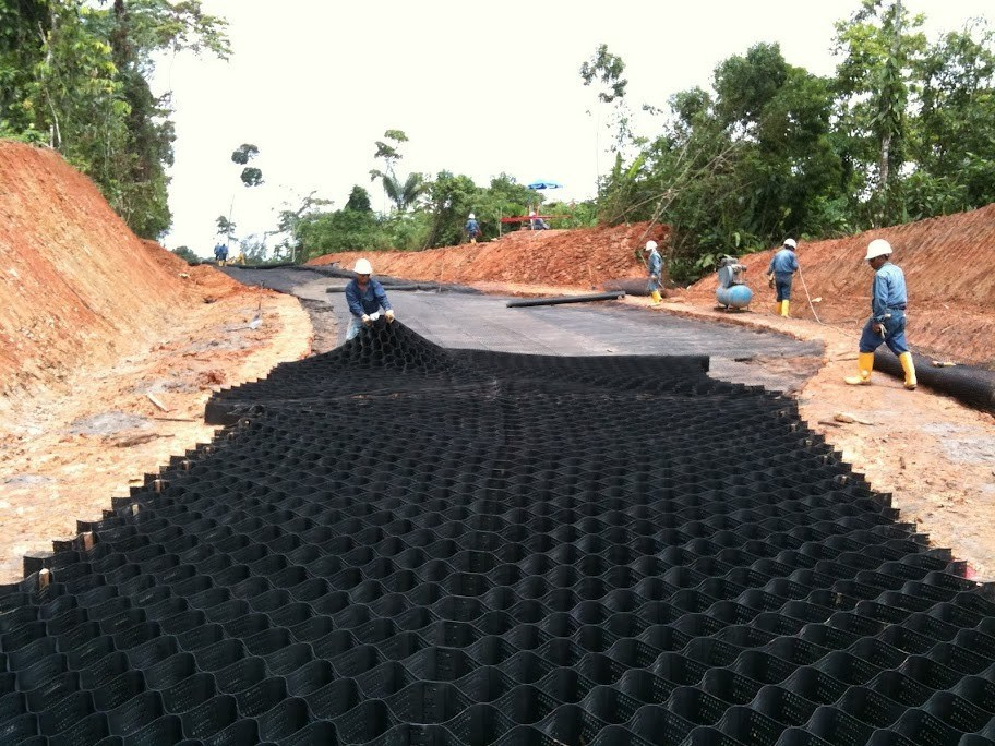 HDPE Welding Geocell Price for Construction