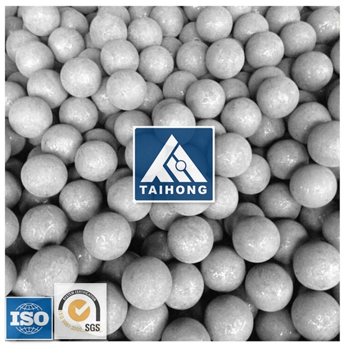 140mm High Hardness 60mn Forged Steel Ball for Alumina Mine