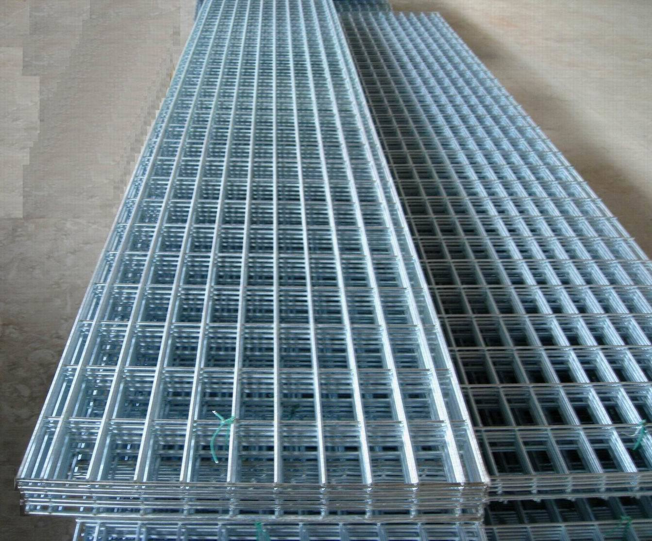 Galvanized Welded Wire Mesh Concrete Galvanized Wire Mesh Anping