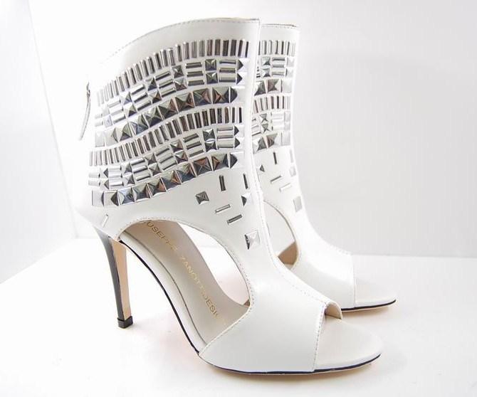 Pretty Fashion White Lady High Heels Shoes