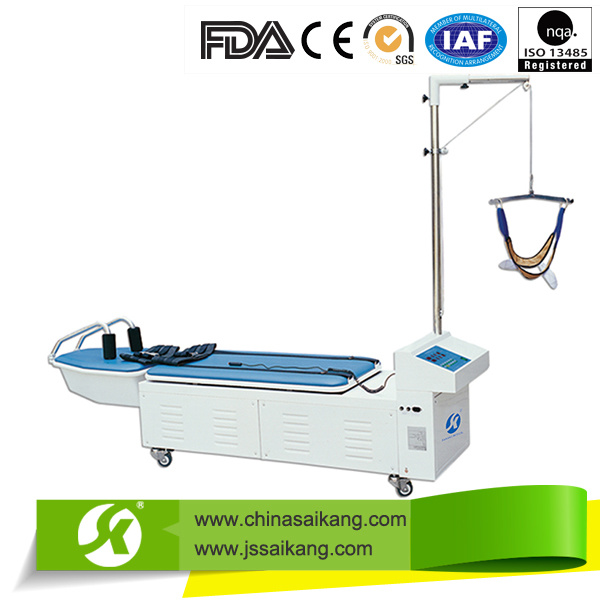 Multifunction Lumbar and Cervical Vertebra Traction Bed Neck Cervical Therapy Equipment