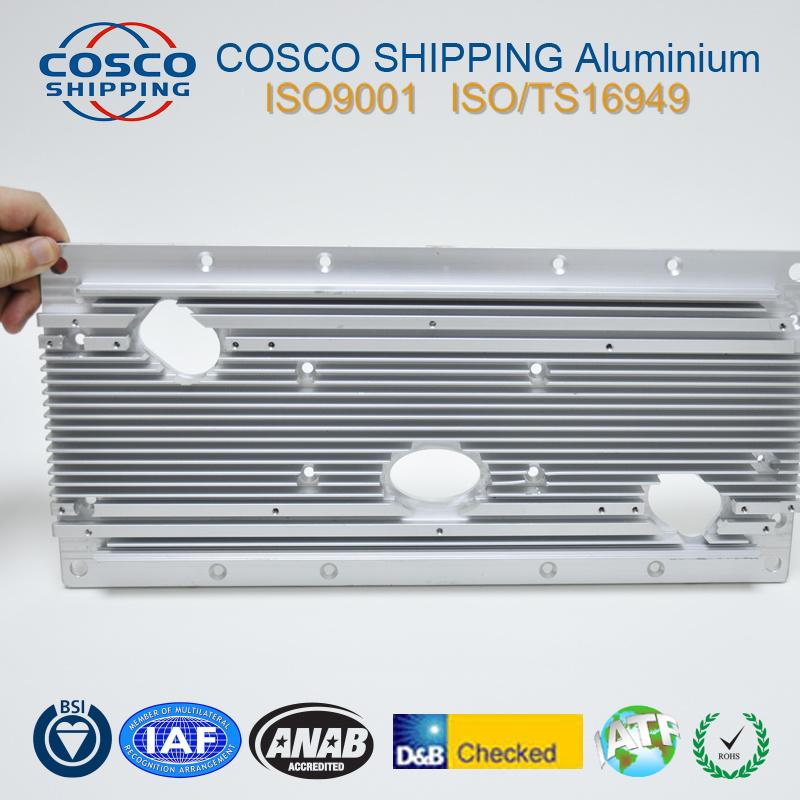 Customized Aluminum Profile Extrusion with CNC Machining (ISO9001: 2008)