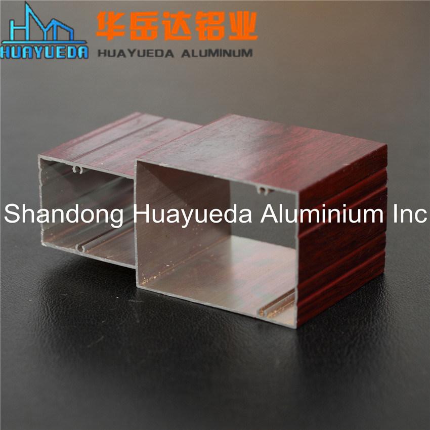 Wooden Grain Aluminum Profile /Aluminum for Windows and Doors