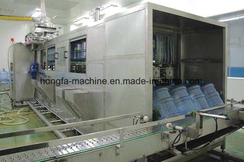 Qgf-600 Full-Automatic 5 Gallon Barrel Bottling Machine