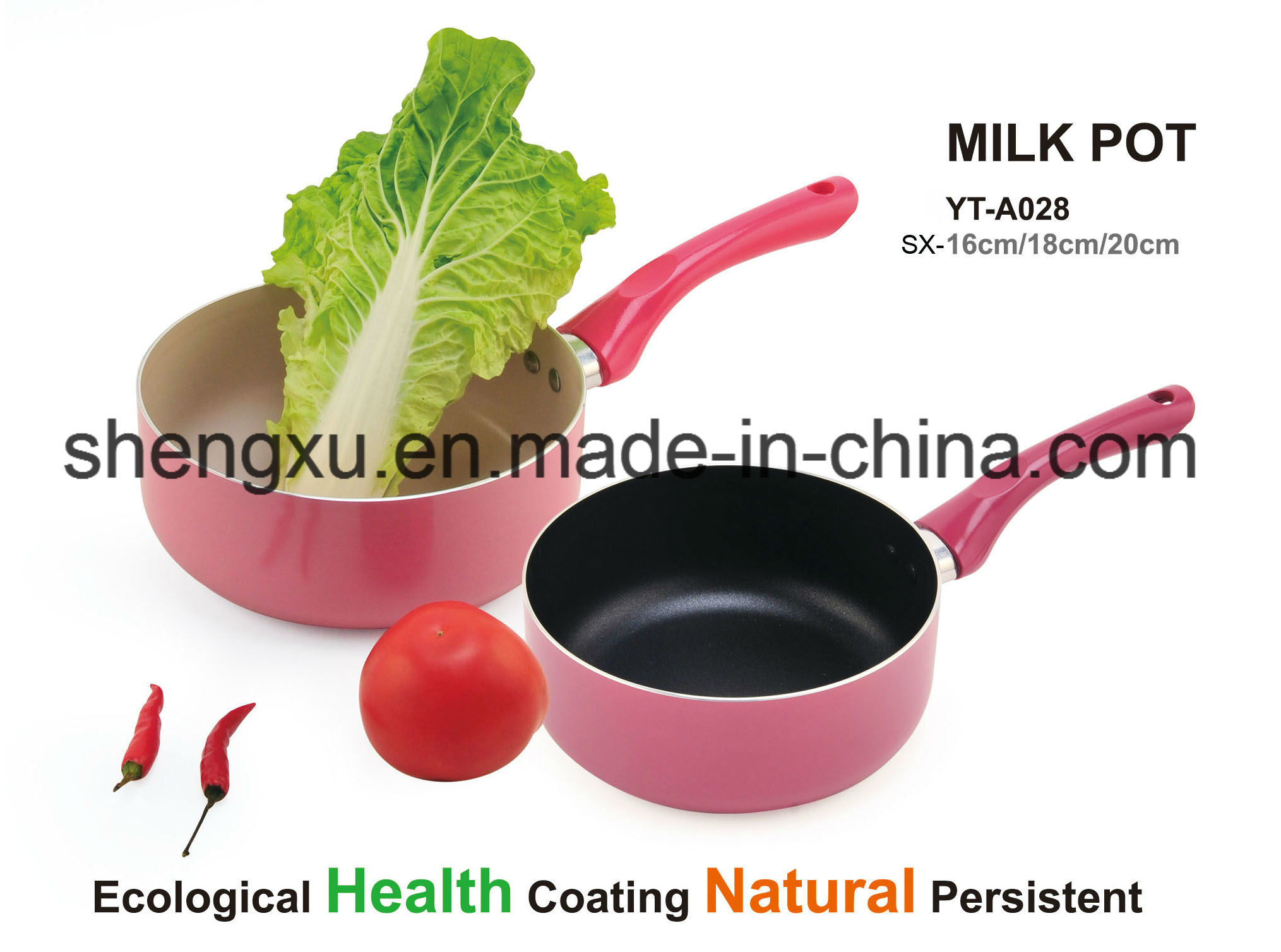 Alloy Aluminium Coated Non-Stick Soup Milk Pot Cookware Sets SX-YT-A028