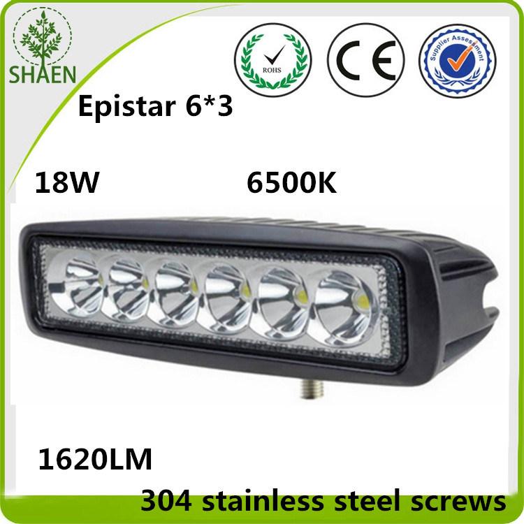 6 Inch CREE LED Working Light Mini LED Bar 60W 6000K
