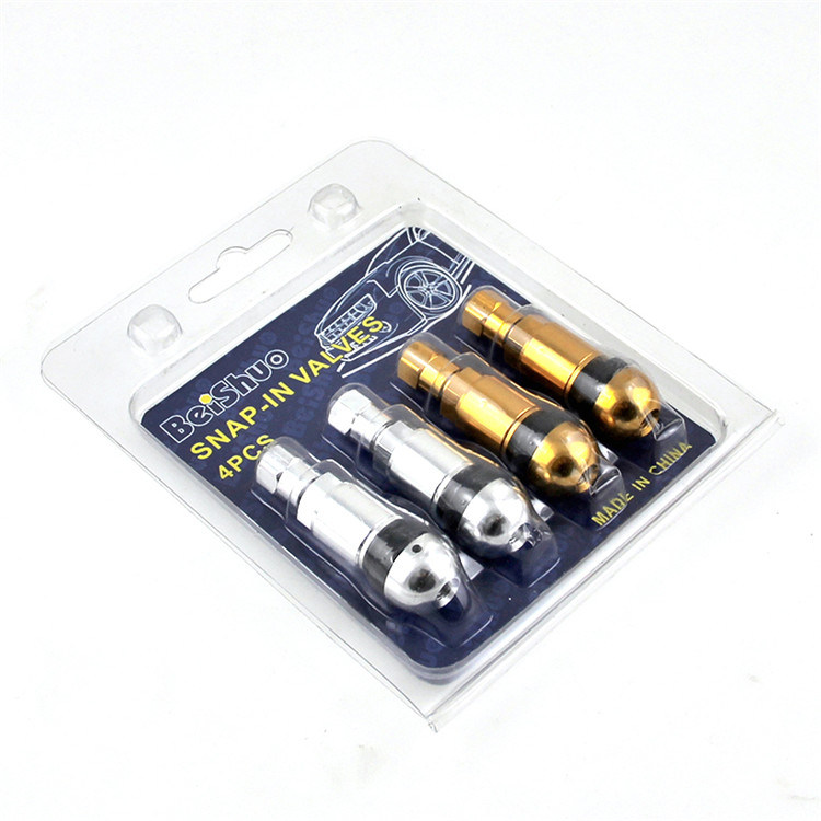 4PCS /Set Auto Car Tire Tyre Valve with 4 Color