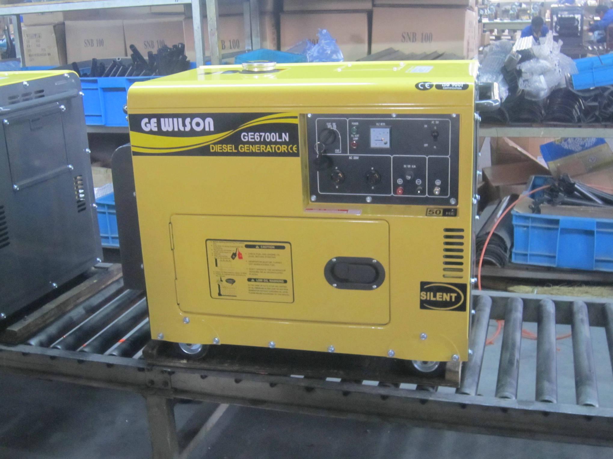 Super Silent/Soundproof Diesel Generator