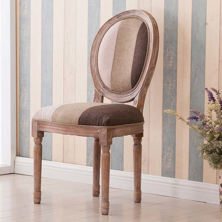 European Style and Antique Style Solid Wood Dining Chair (M-X1113)
