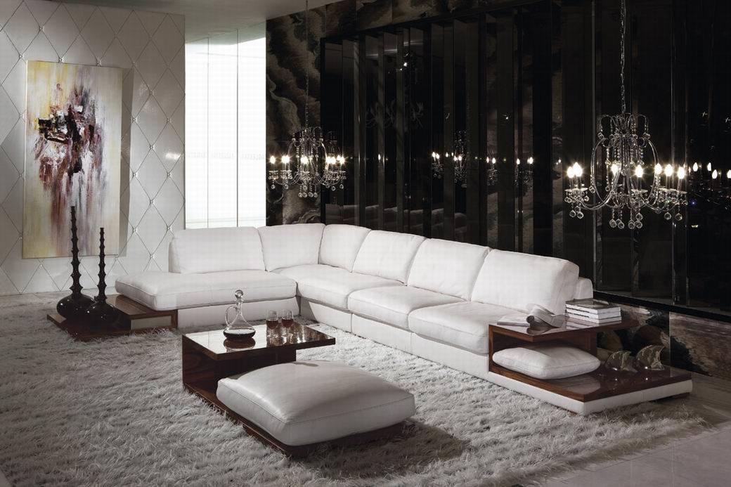 Sof de la esquina de cuero 2013 l sof de la forma - La forma muebles ...