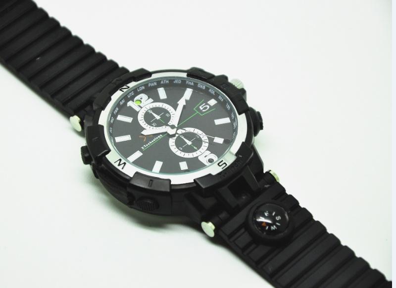 Watch Camera New HD 1080P Video Record Handwrist LED Night Vision Waterproof G Sensor Compass