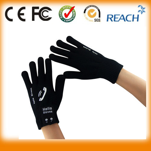 Custom Available Packaging Warm Bluetooth Headset Wireless Gloves Headsfree Headphone