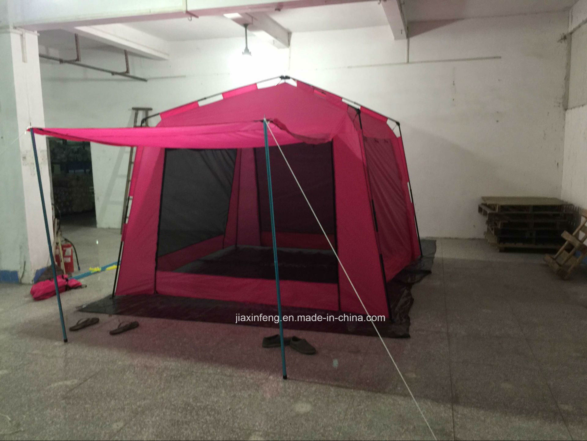 6 Person Instant Cabin Tent