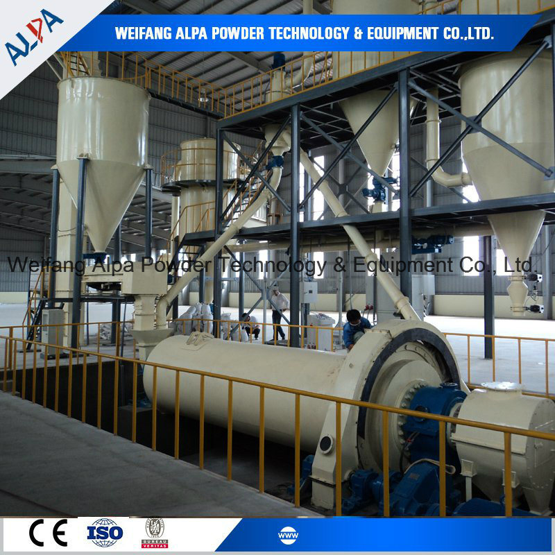 High-Pure and Wear-Resistant Quartz Silica Ball Mill Ground Line