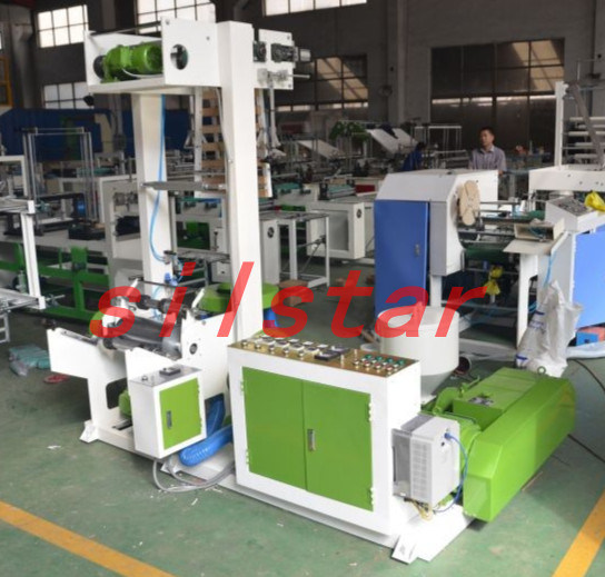 Gbce-150 Laboratory Use Plastic Film Blowing Machine