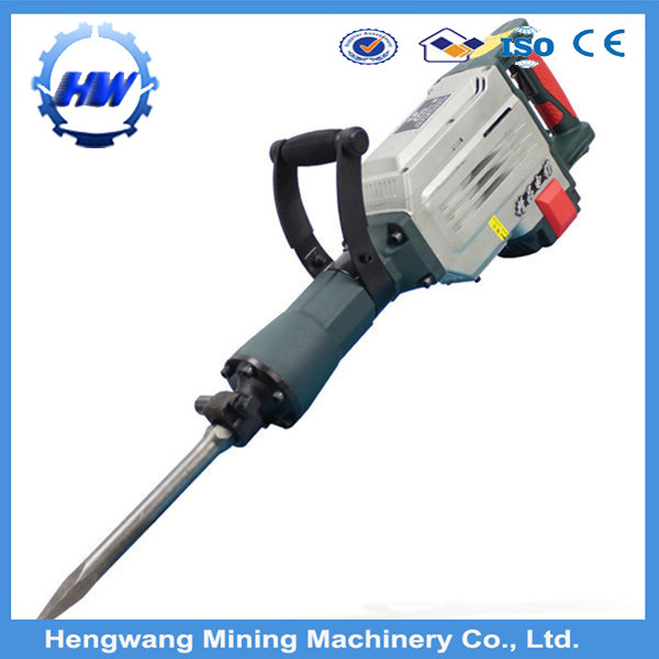 Power Tools 65mm Demolition Breaker Hammer 1500W Electric Jack Hammer