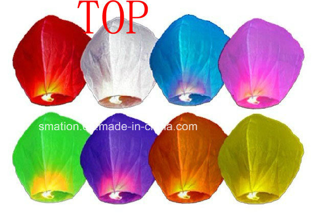 Air Biodegradable Asian Chinese Wish Flying Sky Fire Paper Lanterns