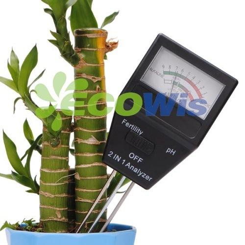 2 in 1 Analyzer Soil Tester pH Meter Garden Tools