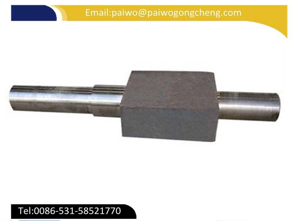 Forging Carbon Steel Alloy Round Bar Machining Finished Shaft