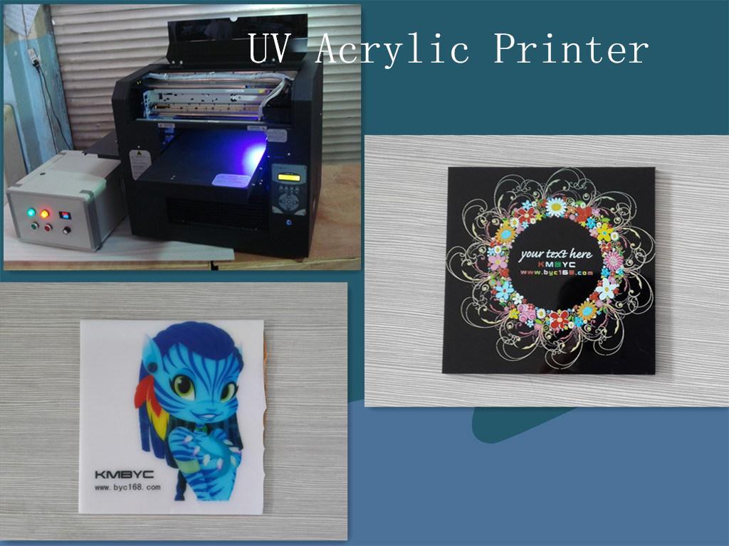 Small Size UV LED Plastic Card Printer