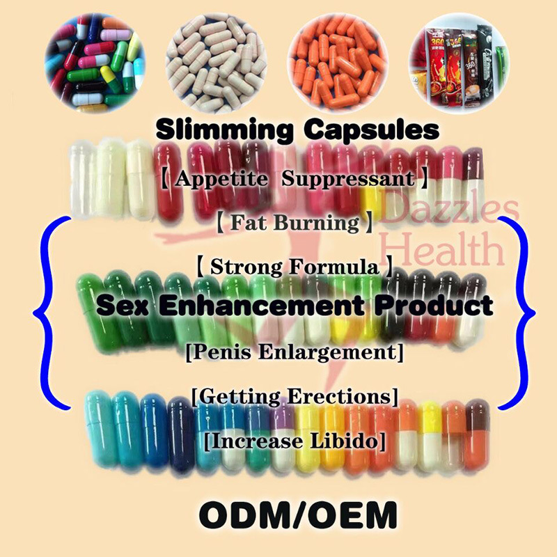 OEM Strong Formula Appetite Suppressant Fat Burn Slimming Capsule Weight Loss Pill
