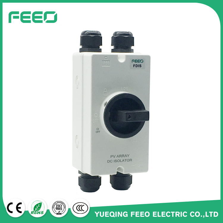 Electrical Power Disconnect Mc4 16A 3p 500VDC Solar Electrical Switch