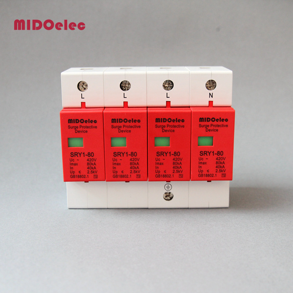 SPD Surge Protective Device 420V AC with 4poles