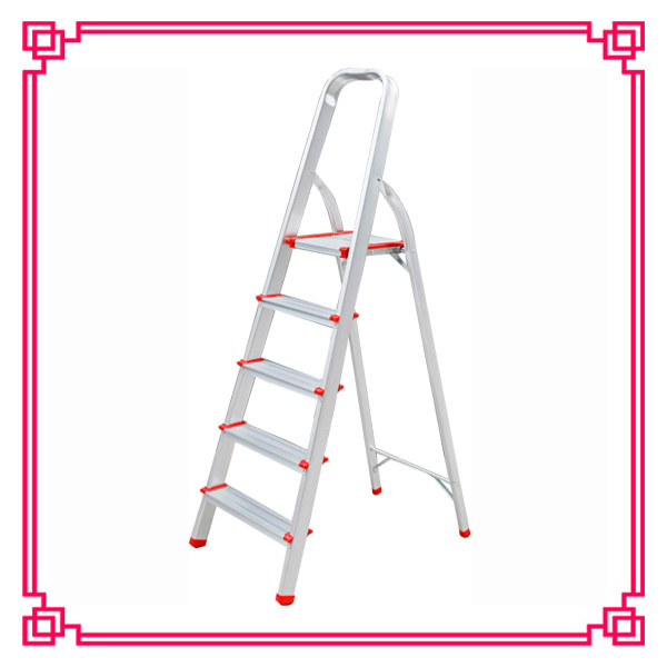5 Steps Aluminum Extension Ladder/Tripe Aluminum Ladder