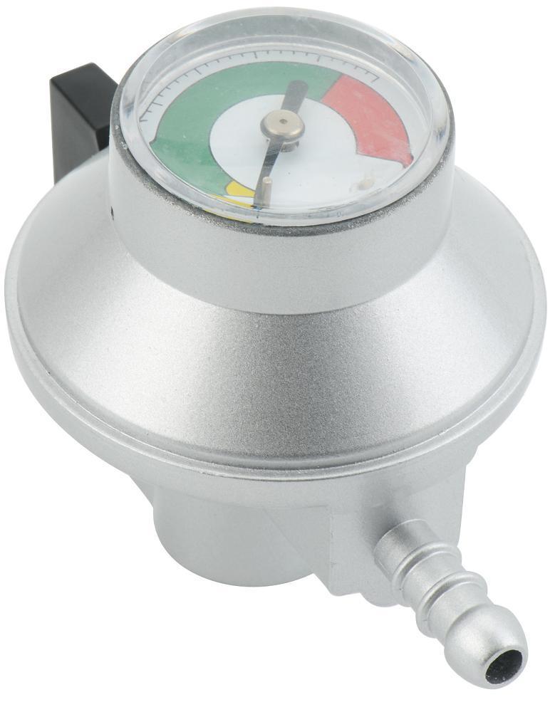 LPG Compact Low Pressure Gas Regulator with Gauge (C13G54U30)