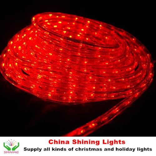 Classic Traditional Christmas Holiday LED Rope Light in Varis Colors Good Quality Cheap Price