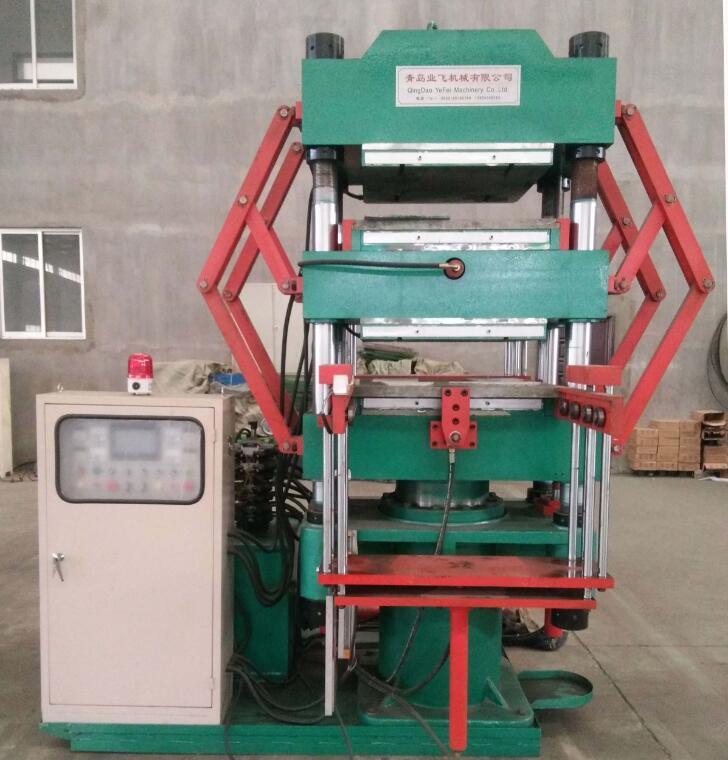 EVA Foaming Hydraulic Press Machine / EVA Foam Press Machine / Rubber Soles Making Machine