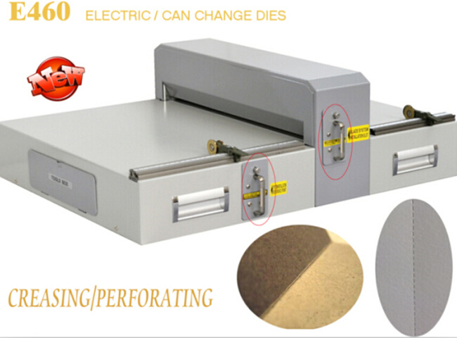 Electric Creasing Machine with Interchangeable Die (E460)