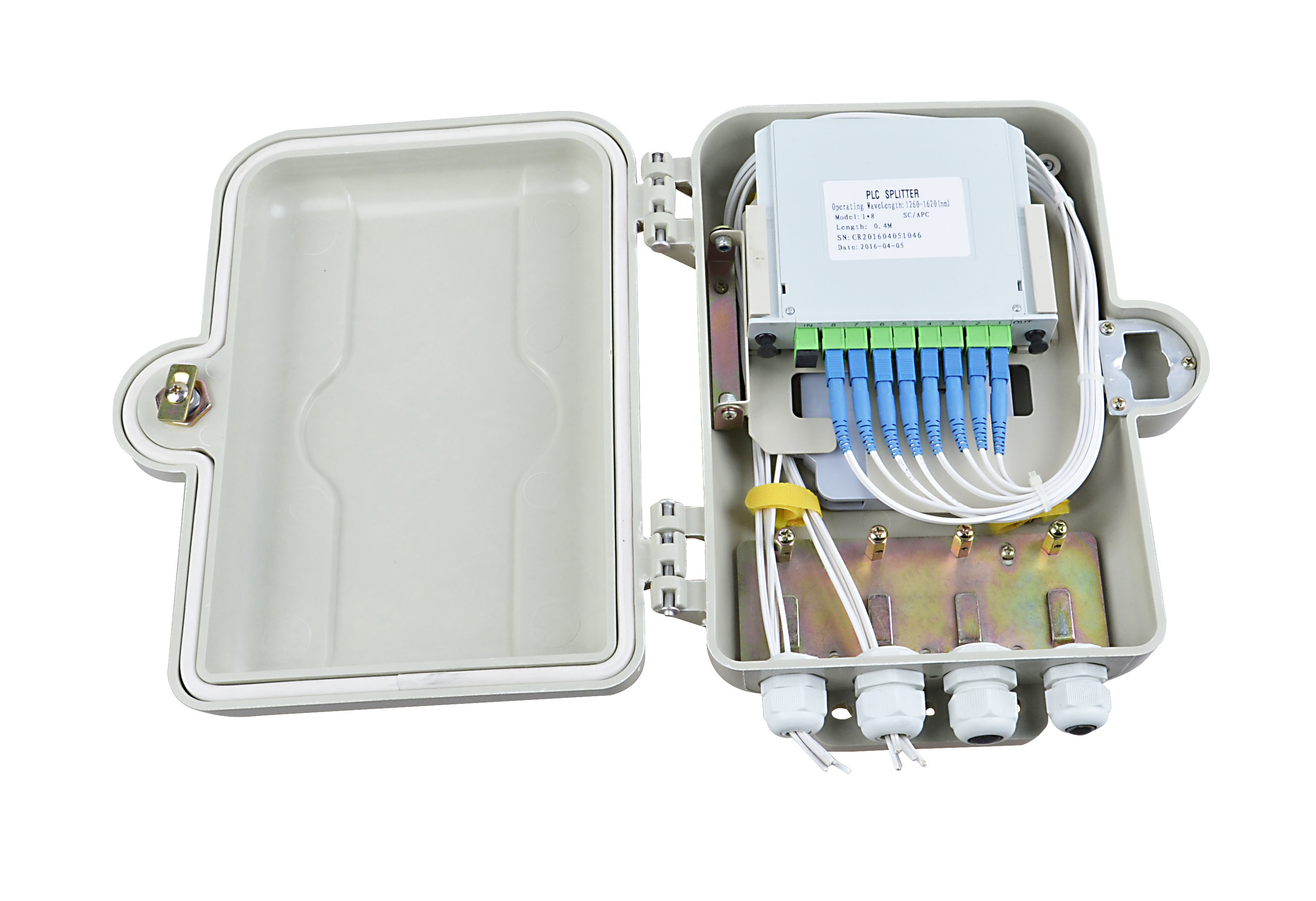 FTTH SMC Plastic Splitter Box Distribution Box