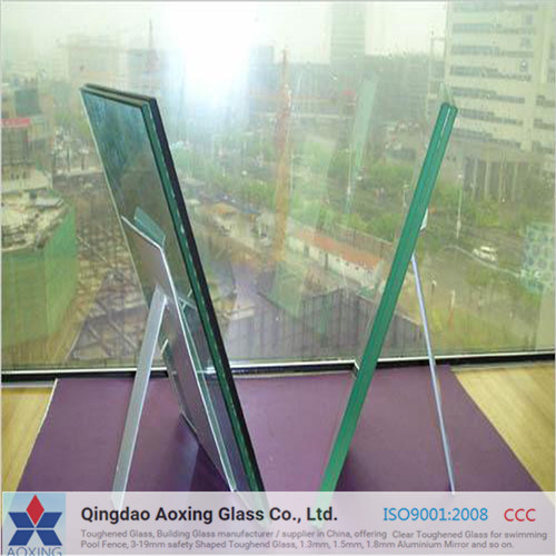 6.38-39.52 PVB Clear/ Colored/Milk White Tempered Laminated Glass