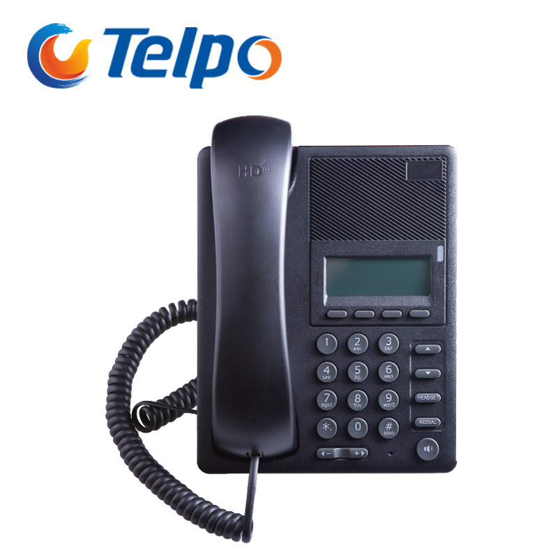 Telpo IP520 VoIP SIP Telephone Used in Hotel, Office and School etc