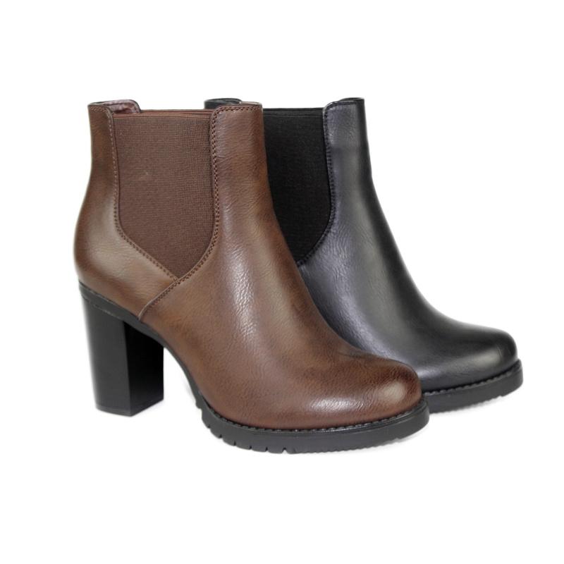 Elegant Winter Footwear with High Heel for Women and Ladies