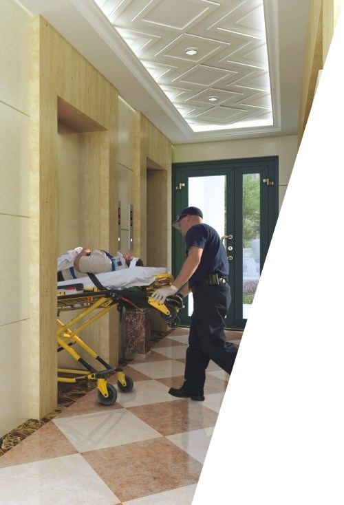 3.0m/S Speed and Safety Hospital Stretcher Elevator