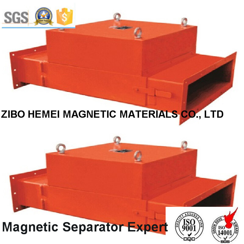 Pipeline Permanent Magnetic Separator for Cement, Chemical, Building Materials -2