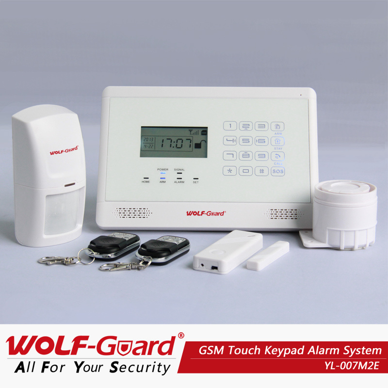 Home Security Alarm System GSM MMS Alarm Systems Yl-007m2e