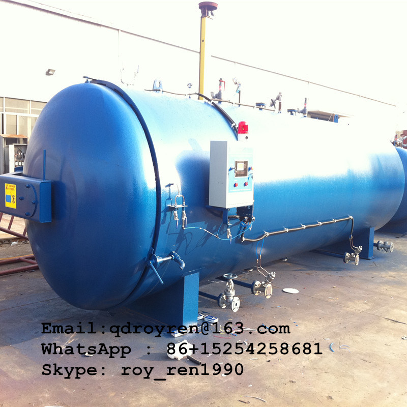 2016 Hot Rubber Autoclave Machine, Rubber Vulcanizing Boiler, Tire Retreading Boiler