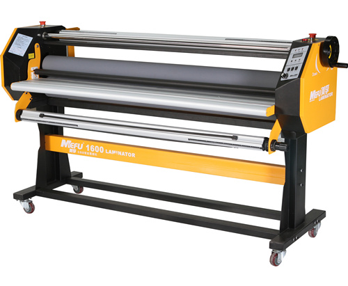 "MEFU MF1700F1 64"" Hot and Cold Laminator Laminating Machine with Roll to Roll"