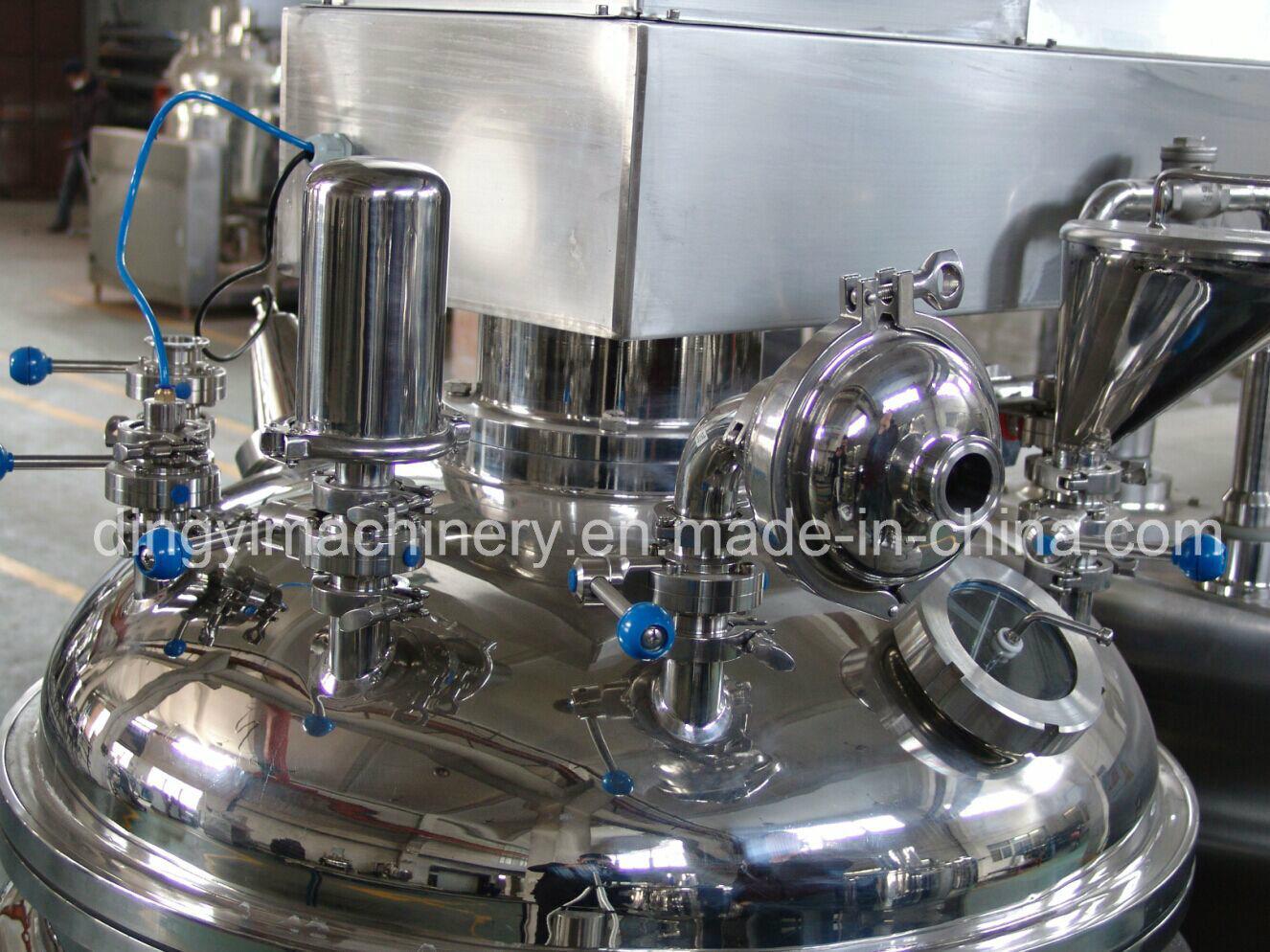 Cream Ointment Soft Gel Vacuum Emulsifying Mixer (ZRJ-1000)