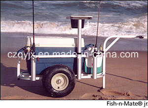 Middle Size Aluminum Fishing Cart Beach Trolley Fishing Product